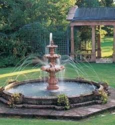Декоративные садовые фонтаны для дачи