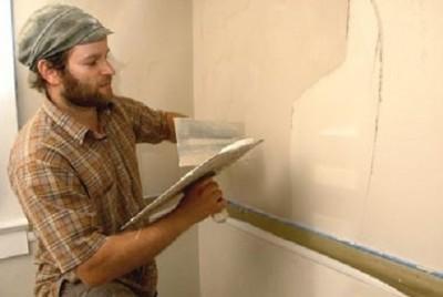Оштукатуривание стен своими руками по гипсокартону
