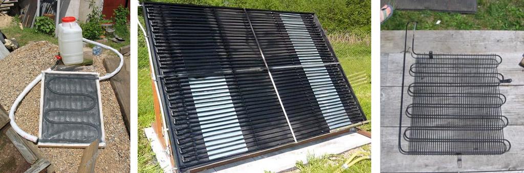 Солнечный радиатор своими руками 155