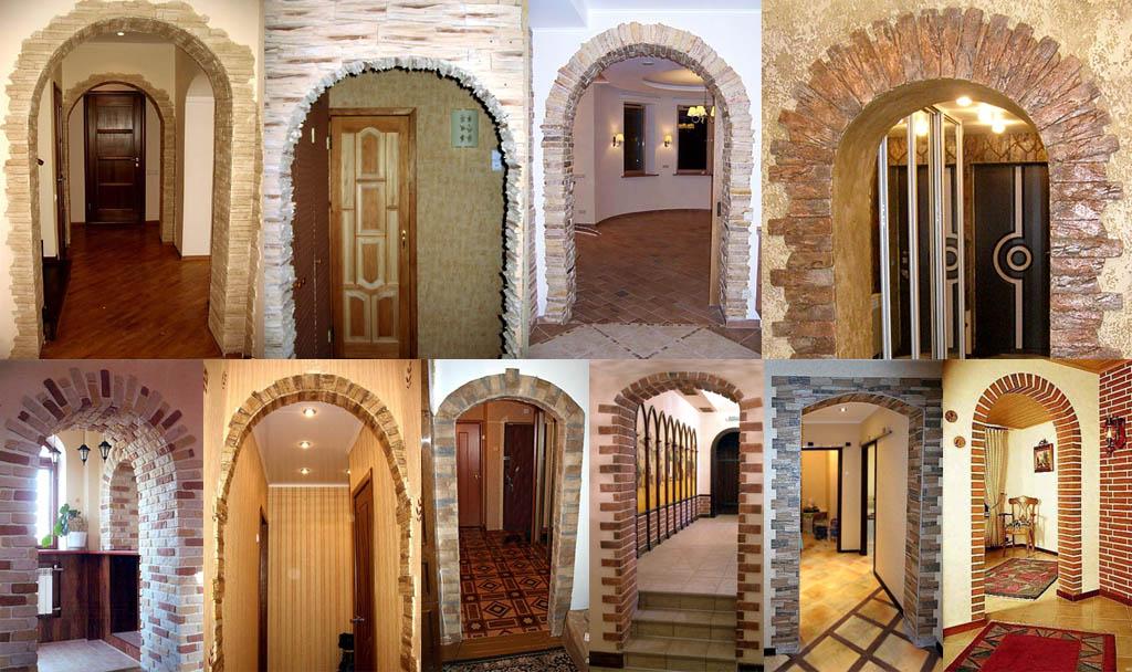 арки дверные межкомнатные фото