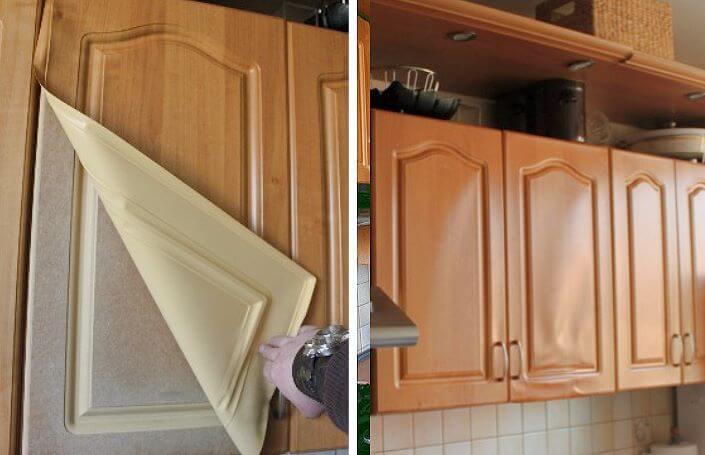 Как отреставрировать фасад кухни