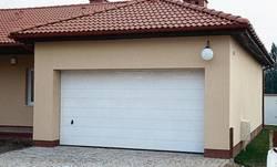 Двухэтажный гараж фото